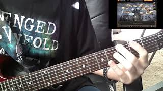 Avenged Sevenfold|Darkness Surrounding guitar cover