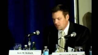 Click to play: Immigration, the Arizona Statute, and E Pluribus Unum - Event Audio/Video