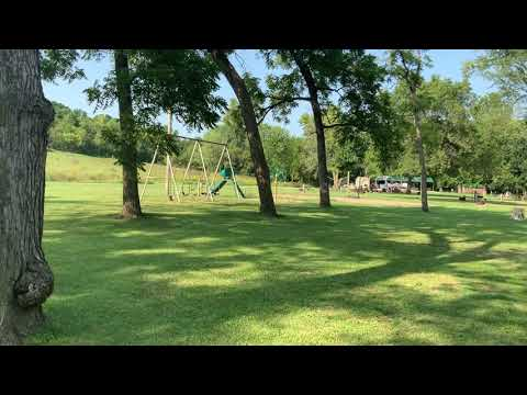 Video sweep of the campground