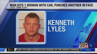 Man arrested after running over woman in Downtown Memphis parking garage