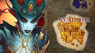 The Location of Nazjatar & Ny'alotha In Patch 8.3: The New Old Gods Of The Black Empire In BFA