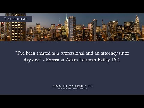 """""""I've Been Treated as a Professional and an Attorney Since Day One"""" testimonial video thumbnail"""