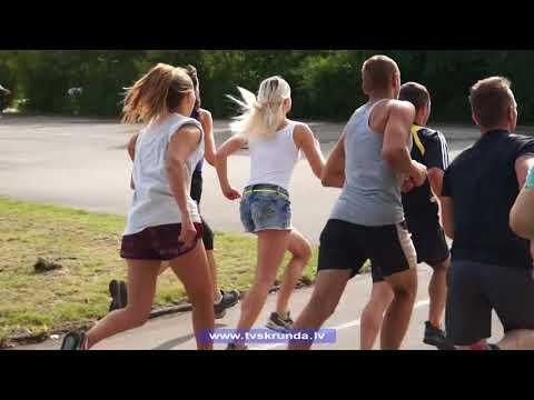Skrundā aizvadītas novada vasaras sporta spēles