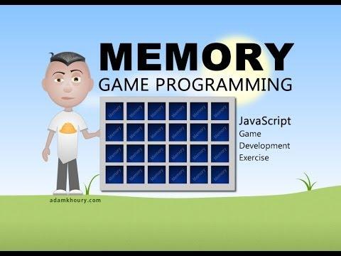 Memory Game Programming JavaScript Tutorial