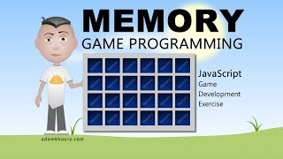 Memory Game Programming JavaScript Tutorial