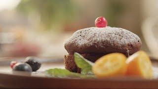 Фондан шоколадный Десерты Как приготовить Фондан рецепт Французский десерт