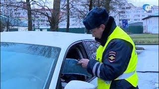 Госавтоинспекция проверила водителей на соблюдение правил перевозки детей