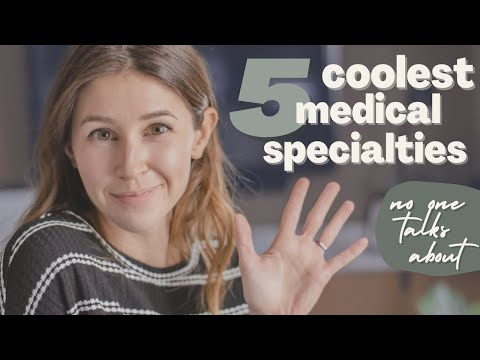 5 COOLEST Medical Specialties You Never Hear About! | Life As A Med Student