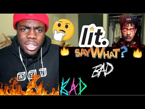 XXXTENTACION - BAD! (Audio) REACTION!!!