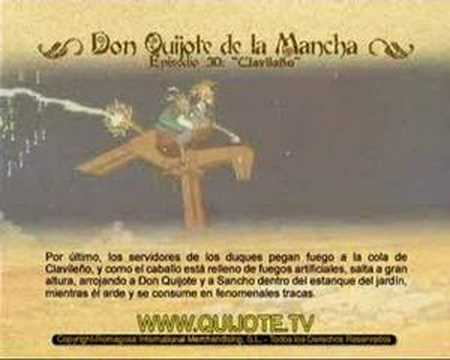 Videocuento Epis.#30 Resumen DON QUIJOTE DE LA MANCHA (1979) - QUIXOTE