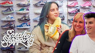 MOM REACTS TO BILLIE EILISH GOES SNEAKER SHOPPING WITH COMPLEX!!!