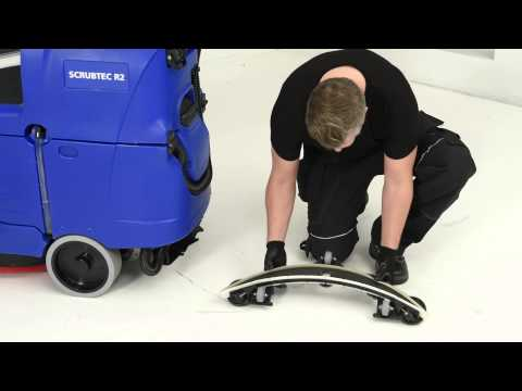 SCRUBTEC R253 maintenance