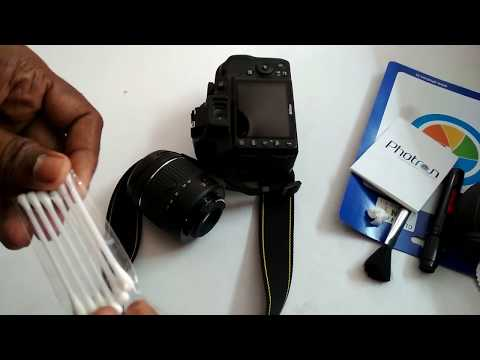 Photron Pro Lens Cleaning Kit review and usage