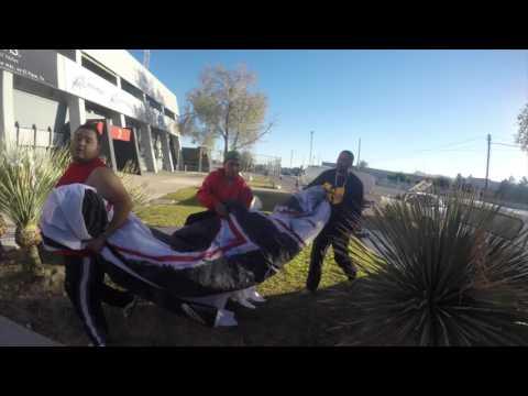 """""""Uno de los recibimientos de la barra de FC Juarez - Barra El Kartel"""" Barra: Barra El Kartel • Club: FC Juárez"""