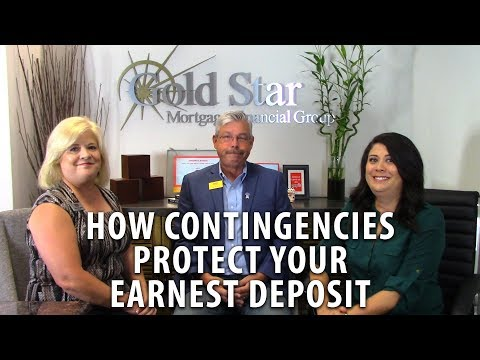Gold Star Mortgage Financial: Protecting Earnest Money Deposit with Contingencies