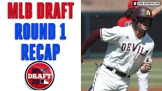 MLB Draft Round 1 Recap, Winners and Losers | CBS Sports HQ