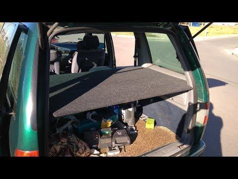 Полка багажника Citroen Evasion/Peugeot 806.
