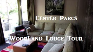 preview picture of video 'Center Parcs Woodland Lodge Tour - Oct 2013'