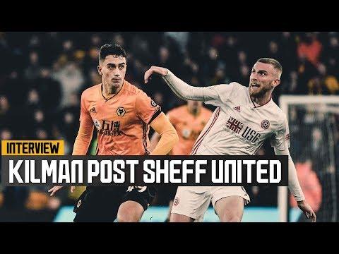 Maximilian Kilman on his full Premier League debut and Sheffield United draw