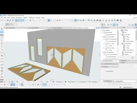Video dan mp3 How To Create Custom Opening In Archicad - TelenewsBD Com
