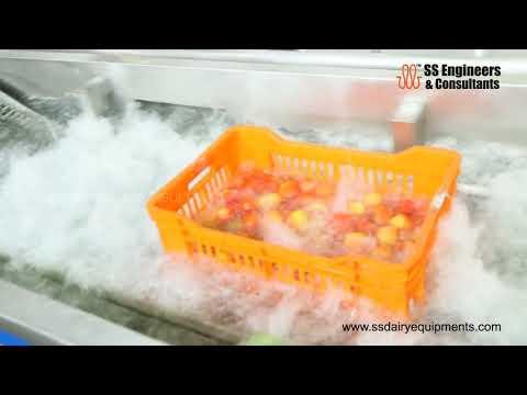 Ginger Washing