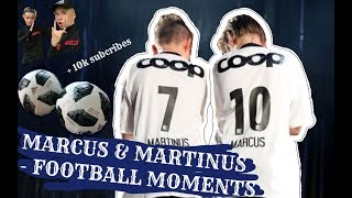Marcus & Martinus - Football Moments & 10k Subcribes