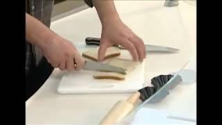 Смотреть онлайн Тарталетки своими руками из хлеба для тостов