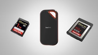 SanDisk Showcases Their Extreme PRO CFexpress Card & NVMe Technology at IBC 2019