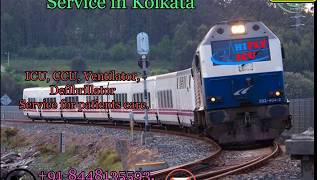 Hifly ICU Train Ambulance from Kolkata to Delhi in a Very Cheap Price