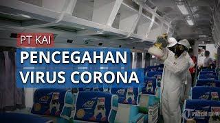Mencegah Penyebaran Corona, PT KAI Menyediakan Hand Sanitizer dan Sarana Cuci Tangan