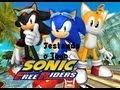 Sonic Free Riders Testando O Jogo Kinect