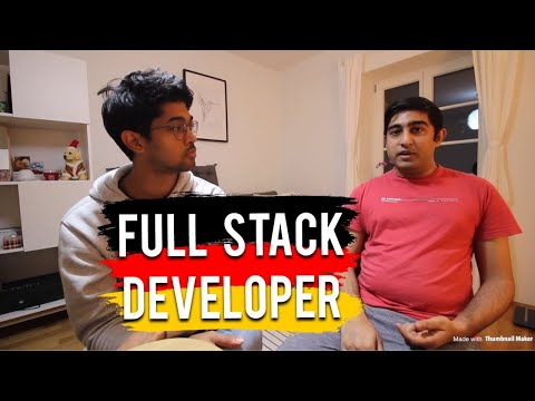 Full Stack Developer, Germany (He came on Deputation and Found a Job)