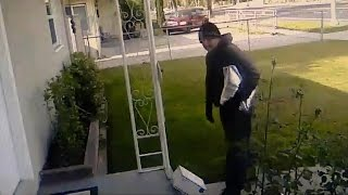 Homeowner Leaves Out Stinky Present For Package Thief To Steal
