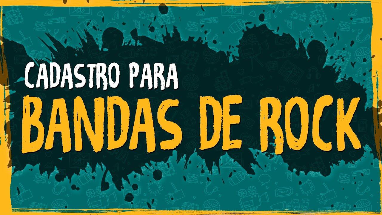 Cadastro para Bandas de Rock – Ministério Turismo