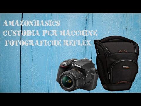 Unboxing e mini-recensione AmazonBasics - Custodia per macchine fotografiche reflex