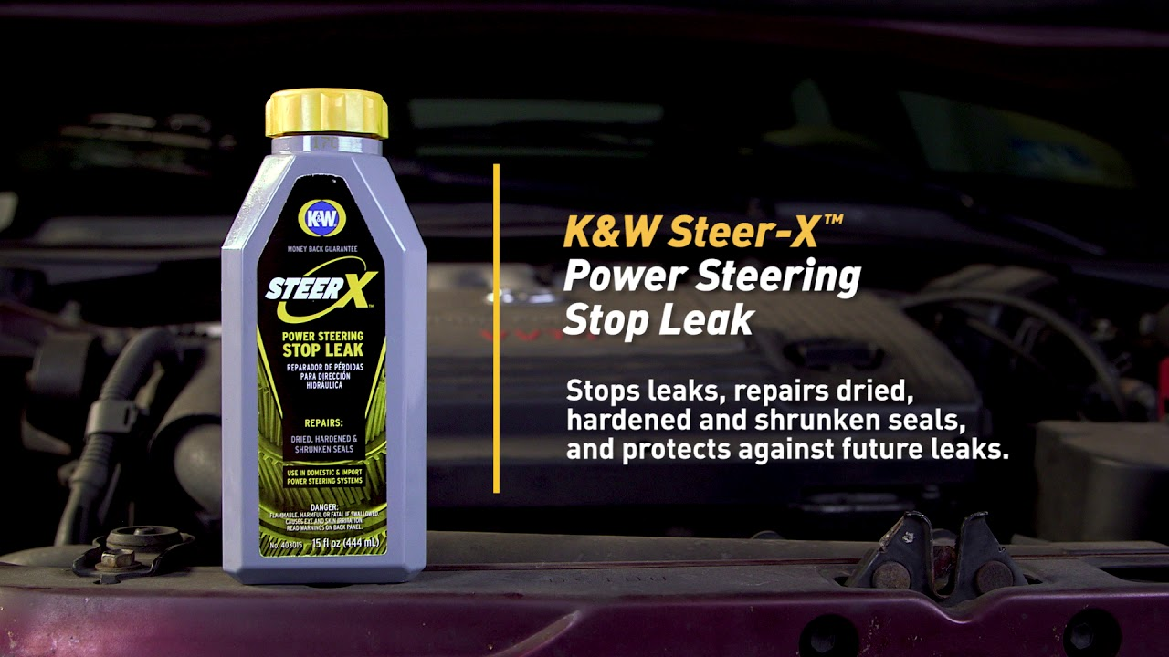 How to Fix a Power Steering Leak with K&W® STEER-X™ Power Steering Stop Leak