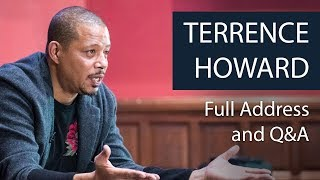 Terrence Howard | Full Address and Q&A | Oxford Union