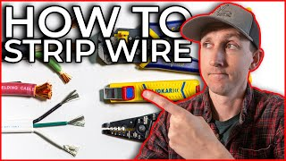 How to Strip Wire from 4/0 to 24 AWG