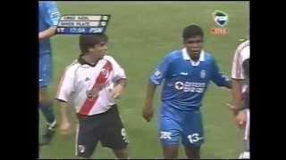 Reportaje color y resumen Cruz Azul 3 River Plate 0 (Libertadores 2001)