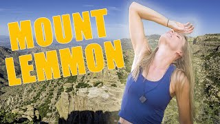 Cycling up Mt Lemmon | It Just Keeps Going Up