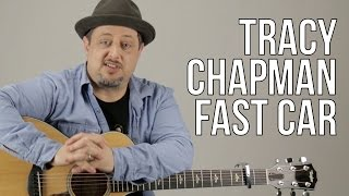 How To Play Tracy Chapman   Fast Car