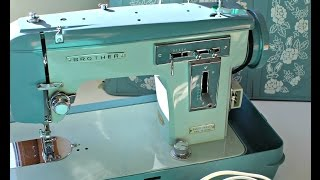 how to use a vintage sewing machine brother 345 most popular videos rh novom ru Singer Sewing Machine Instruction Manual Singer Sewing Machine Instruction Manual