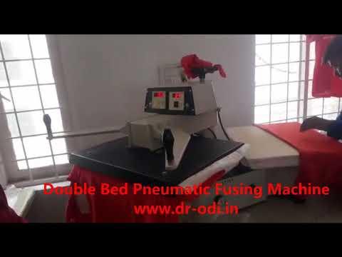 Double Bed Pneumatic Fusing Machine