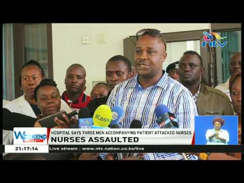 Two Mama Lucy Hospital nurses injured after being assaulted by people accompanying a patient