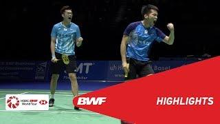 YONEX Swiss Open | MD Semifinals Highlights | BWF 2019
