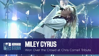 How Miley Cyrus Won Over The Crowd At Chris Cornell's Tribute Concert