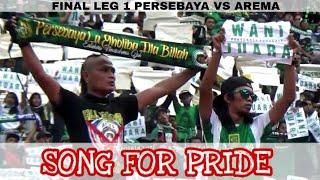 Pecah..!! Song For Pride 50 Ribu Bonek Menggema Di Stadion GBT Saat Persebaya Vs Arema