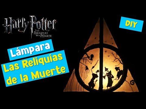 LAMPARA DE HARRY POTTER  | LAS RELIQUIAS DE LA MUERTE | ESPECIAL 1K | DIY