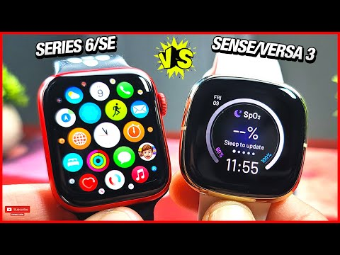 Apple watch Series 6/SE vs Fitbit Sense/Versa 3!