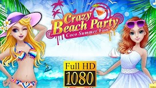 Crazy Beach Party-Coco Summer! Game Review 1080P Official Coco Tabtale Casual 2016